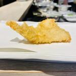天ぷらとワイン 大塩 - かしわ