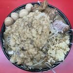 自家製太麺 ドカ盛 マッチョ - ■ラーメンうずら煮玉子¥840