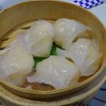 釜谷 - 蒸し餃子