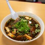 京の華 - 2021.2 蘭州牛肉麺(1,200円)