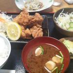 諭吉 - 鶏から揚げ膳780円