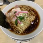 むぎとオリーブ - 鶏SOBA950円