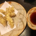 うなぎ川菊 - なまずの天ぷら