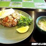 プーケット - カイラン菜入り炒飯