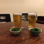 きまぐれ - ドリンク写真:生ビールから