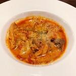 池袋 ビストロ モンパルナス - トリッパのトマト煮込み(780円)