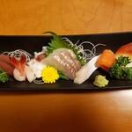 千成 - 「竹」定食の刺身