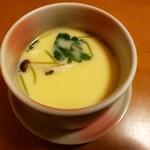 千成 - 「松」定食の茶碗蒸し
