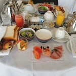 ウェスティンホテル仙台 - テーブルいっぱい