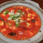 天福 - 料理写真:四川風麻婆豆腐 かなり辛い