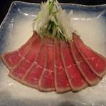 北品川 ここから - 料理写真:和牛肉のたたき 650円