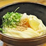 うどん研究所 麺喰道 - しょうゆうどん