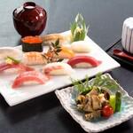 旭鮨総本店 - あわびステーキとにぎり寿司
