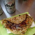 キャベツ焼 - キャベツ焼+ビールセット