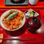 西麻布天ぷら魚新 - 天ばら