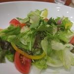 ポムの樹 - たっぷり野菜のグリーンサラダ(441円) 12.05.31.