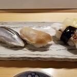 横浜すし好 - コハダ・ホッキ・ゲソ。