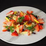 Bistro Sentiment - 料理写真:フォアグラブリュレといちごのひとさら