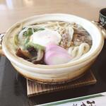 まるやうどん - 鍋焼きうどん 720円