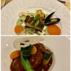 ルガノ - 料理写真:魚料理と肉料理