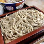 そば処櫻井 - 料理写真:セットのもり