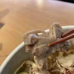 肉そば鶏中華最上川 -