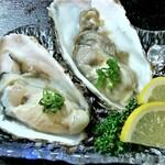 大漁旗 - 生牡蠣