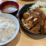 サッポロトンテキ - トンテキ定食 ¥1,210