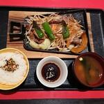 北海道料理 ユック - ジンギスカン定食 1,490円