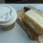 かふぇ こまち - 料理写真:珈琲 ドリップコーヒー ホット・エッグサンド