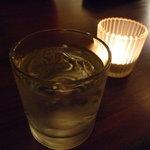 グローブカフェ - ☆焼酎の芋ハーフハーフ☆