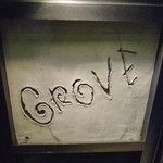 グローブカフェ - ☆このシンプルな看板が目印です☆