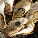 方舟 酒月 - 能登牡蠣の酒蒸しは身が縮まりません!