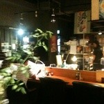 絆家本舗 - オープンキッチン…オサレな感じ