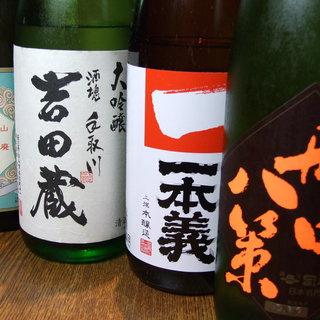 地酒のこだわりと岩魚の骨酒がおすすめ