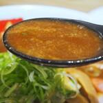 和 ダイニング 清乃 - 和歌山贅沢ラーメン(スープ)