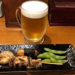蔵元 豊祝 - 豊祝セット500円生ビール選択