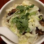 刀削麺・火鍋・西安料理 XI'AN - 炸醤刀削麺(+五目中華丼セット)