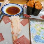 海峡鮨 - ぼたんえび&バフンウニ