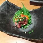 akasakakintan - 和牛のミニユッケ