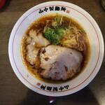 山なか製麺所 - 醤油らーめん(700円、真上から)