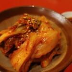 あさひ食堂 - 白菜キムチ(480円)