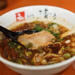 清乃 - 煮干しブラック800円