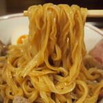 146919180 - 特製魚介まぜそば(ウイング麺)