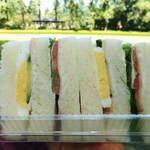 シェレンバウム - ハムと野菜のサンドイッチ
