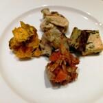ペルドマーニ - 前菜5種盛