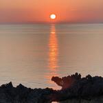 146924896 - ☆ヨロン島の夕日も美しい。
