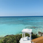 146925202 - ☆ヨロン島のヨロンブルーの海の色は美しい。