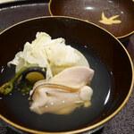 Chisousottakuito - 「椀」             ・熊本県湯島の大根             ・静岡の蛤