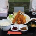 肴菜 一心 - 料理写真:ミックスフライ定食